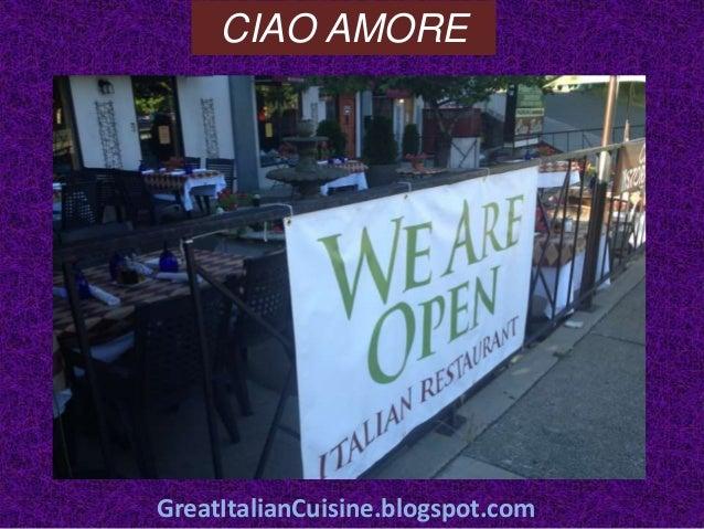 Ciao Amore Italian Restaurant