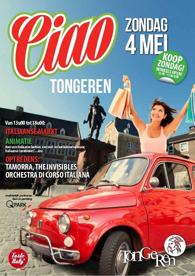 Ciao Tongeren - 04 mei 2014