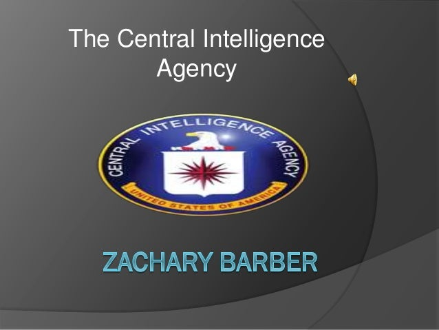 CIA power point Zach Barber