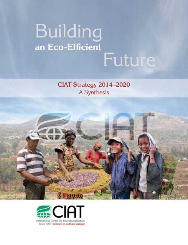 1 Building an Eco-Efficient Future CIAT Strategy 2014–2020 A Synthesis