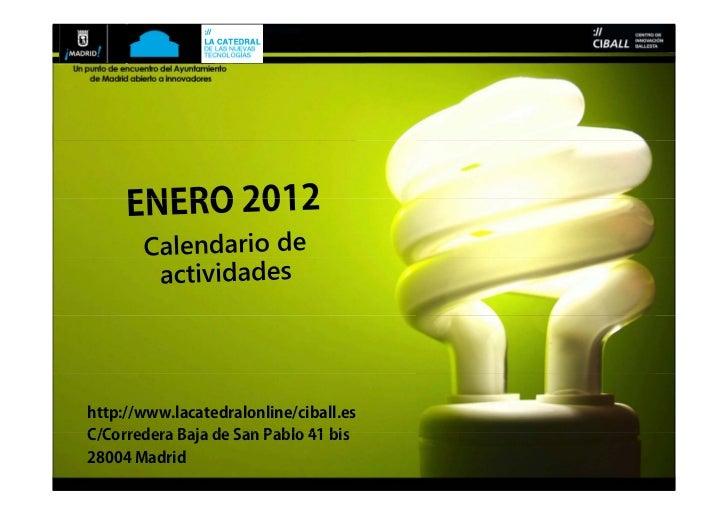 Jueves12deEnero201219:30