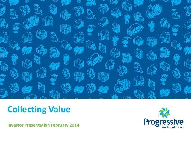 Cibc presentation feb 27, 2014