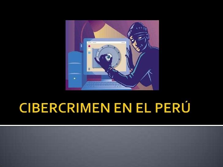 Cibercrimen diapositivas
