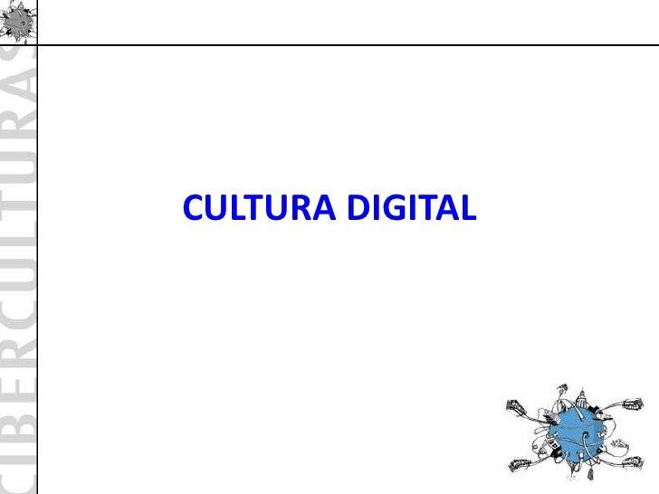 Cibercultura maestría bolivia slideshare