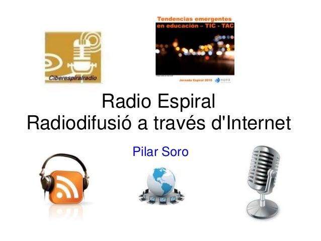 Ciberespiral radio jornadas