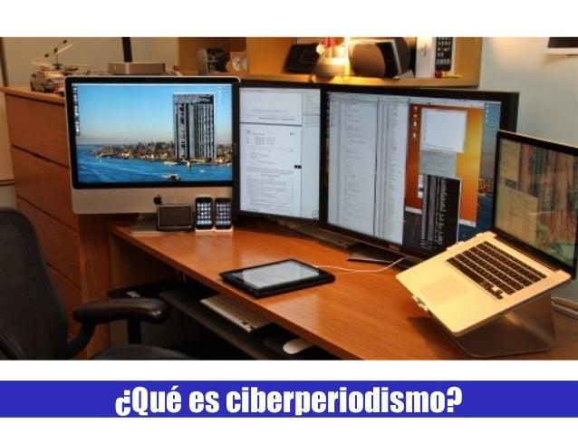 ¿Qué es ciberperiodismo?