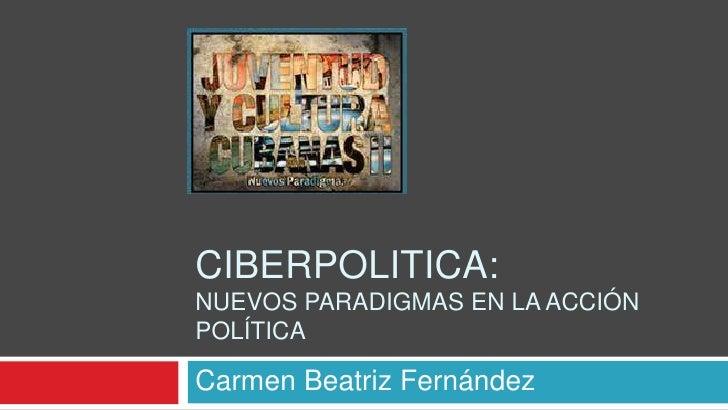 Ciberpolitica: hacia una Cuba2.0