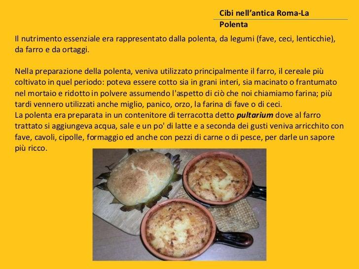 Cibi nellantica roma for Cibi tipici di roma