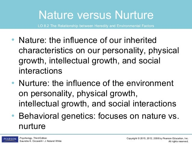 an analysis of the debate on nature versus nurture