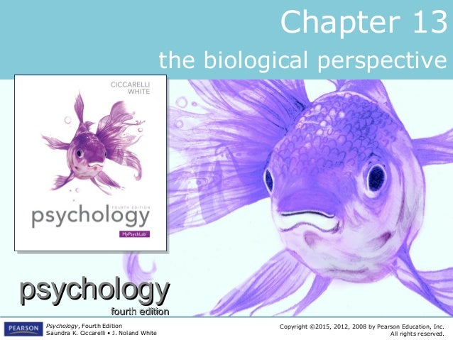 PSYC1101 - Chapter 13, 4th Edition PowerPoint