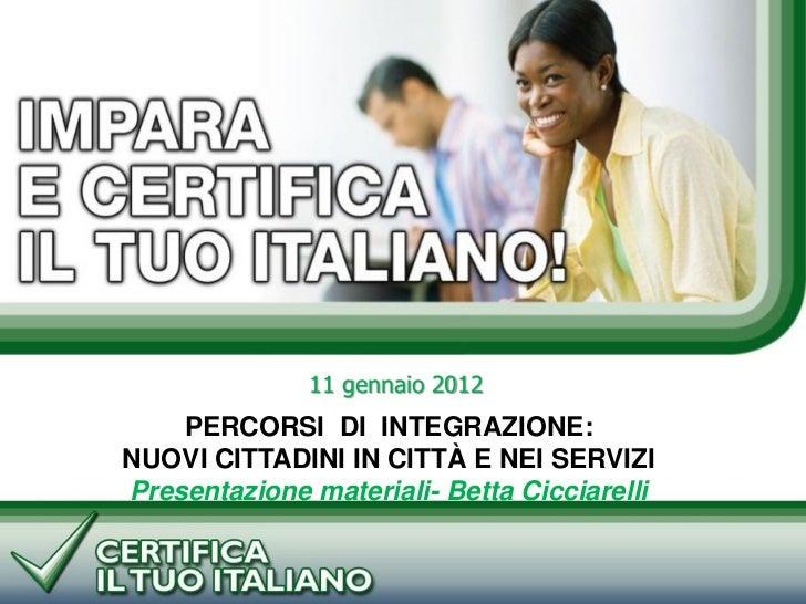 Presentazione Cicciarelli su ed cittadinanza
