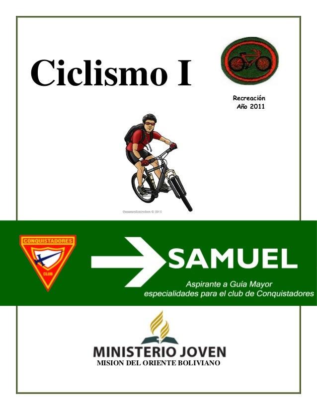 Ciclismo 1 especialidad conquistadores