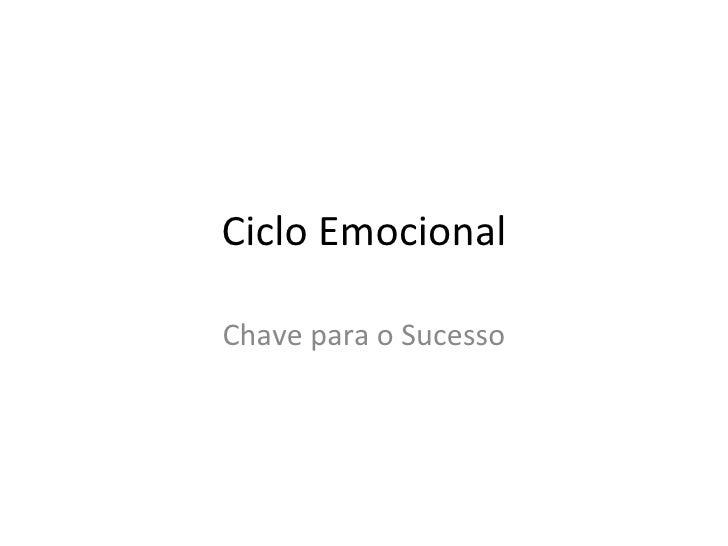 Ciclo Emocional Chave para o Sucesso