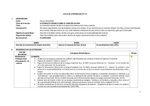 CICLO DE APRENDIZAJE Nº 12 I.  INFORMACION: Fecha: Título de la lección: Tema: Concepto CCE:  Para el 21/12/2013 EL CONFLI...