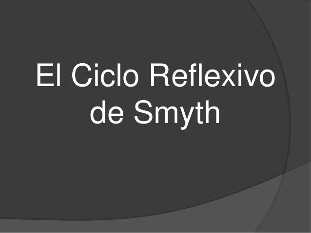 El Ciclo Reflexivo de Smyth