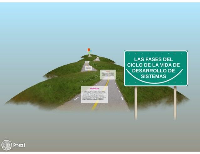 LAS FASES DEL CICLO DE VIDA DE DESARROLLO DE SISTEMAS