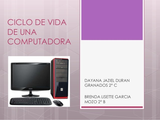 Ciclo de vida de una computadora