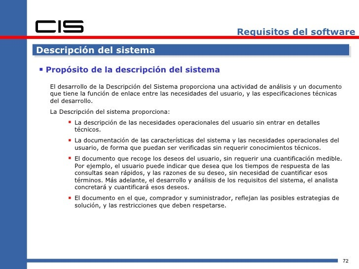 Plantilla de documento de requisitos de usuario de software ...