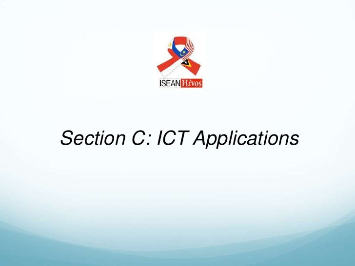 Section C: ICT Applications