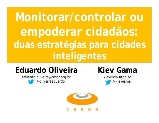 Cidades Inteligentes - Civic Hacking - Open Data
