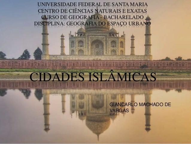 UNIVERSIDADE FEDERAL DE SANTA MARIA CENTRO DE CIÊNCIAS NATURAIS E EXATAS   CURSO DE GEOGRAFIA - BACHARELADODISCIPLINA: GEO...