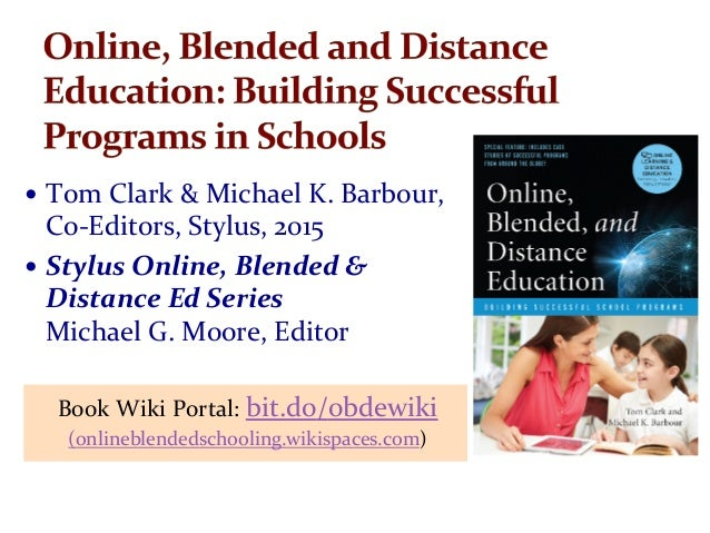 issues of blended learning in university Online and blended learning: regina brown, university of wisconsin state of k-12 online learning 9 trends, issues and challenges 10.