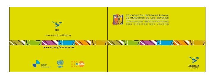 Convención Iberoamericana de los Derechos de los Jóvenes