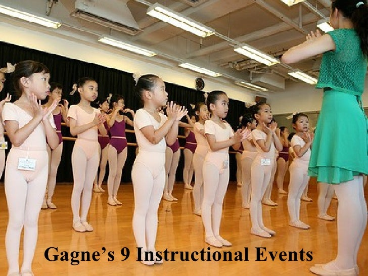 Gagne's 9 Instructional Events