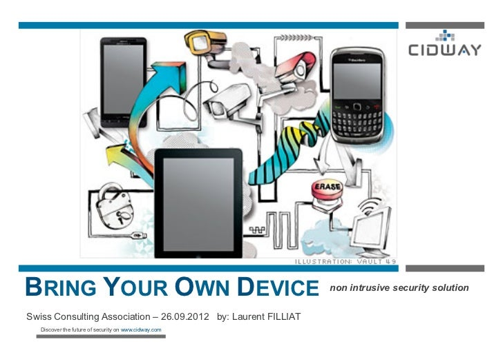 BRING YOUR OWN DEVICE                                           non intrusive security solutionSwiss Consulting Associatio...