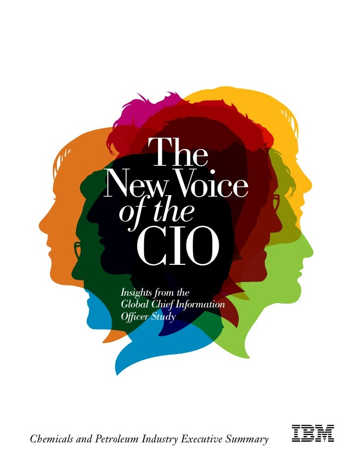 The                New Voice                   of the                       CIO                    Insights from the      ...