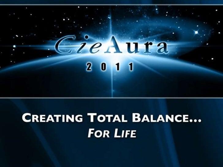 Cieaura new cie_aura_presentation_june_2011_vr