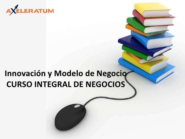 Innovación y Modelo de Negocio