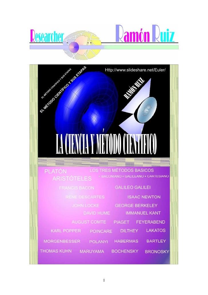 METODO CIENTIFICO Y CIENCIA