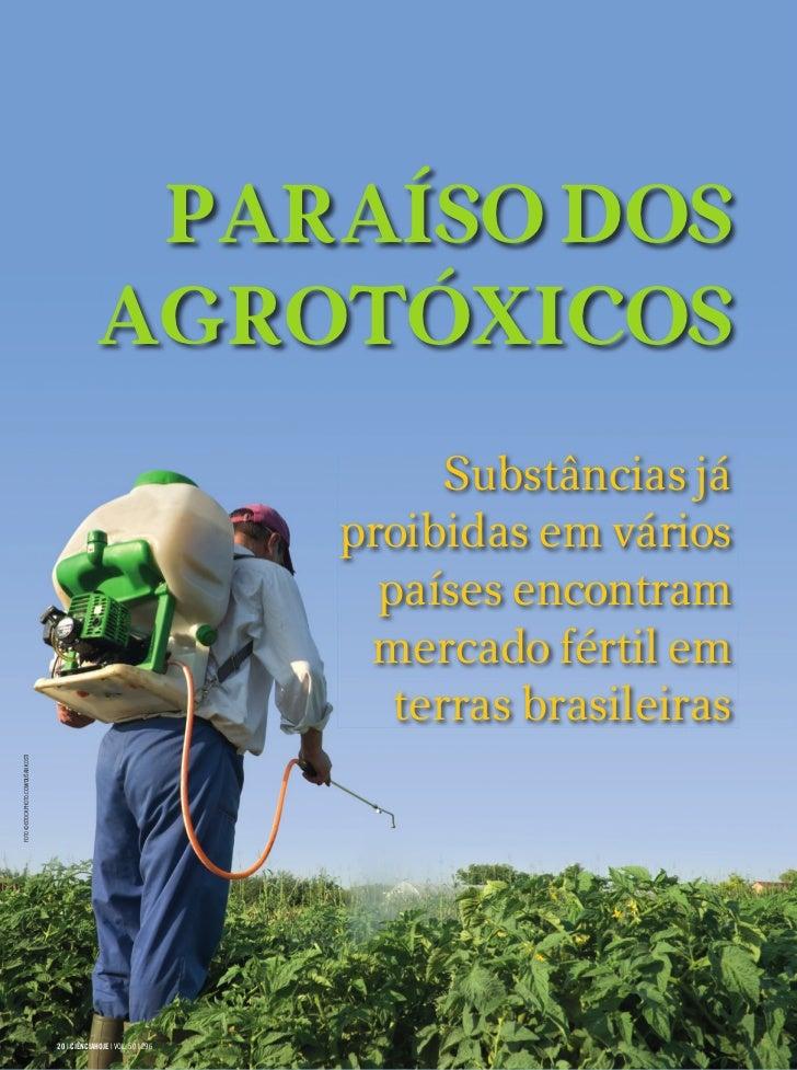 PARAÍSO DOS                                                 AGROTÓXICOS                                                   ...