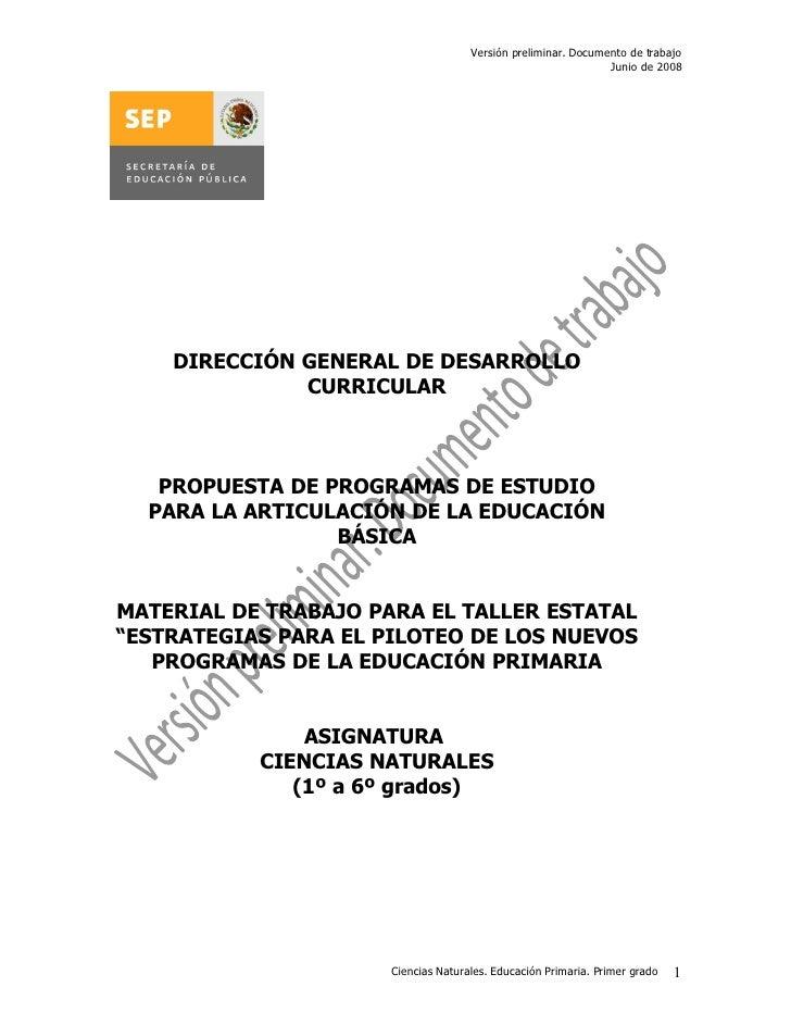 Versión preliminar. Documento de trabajo                                                                Junio de 2008     ...