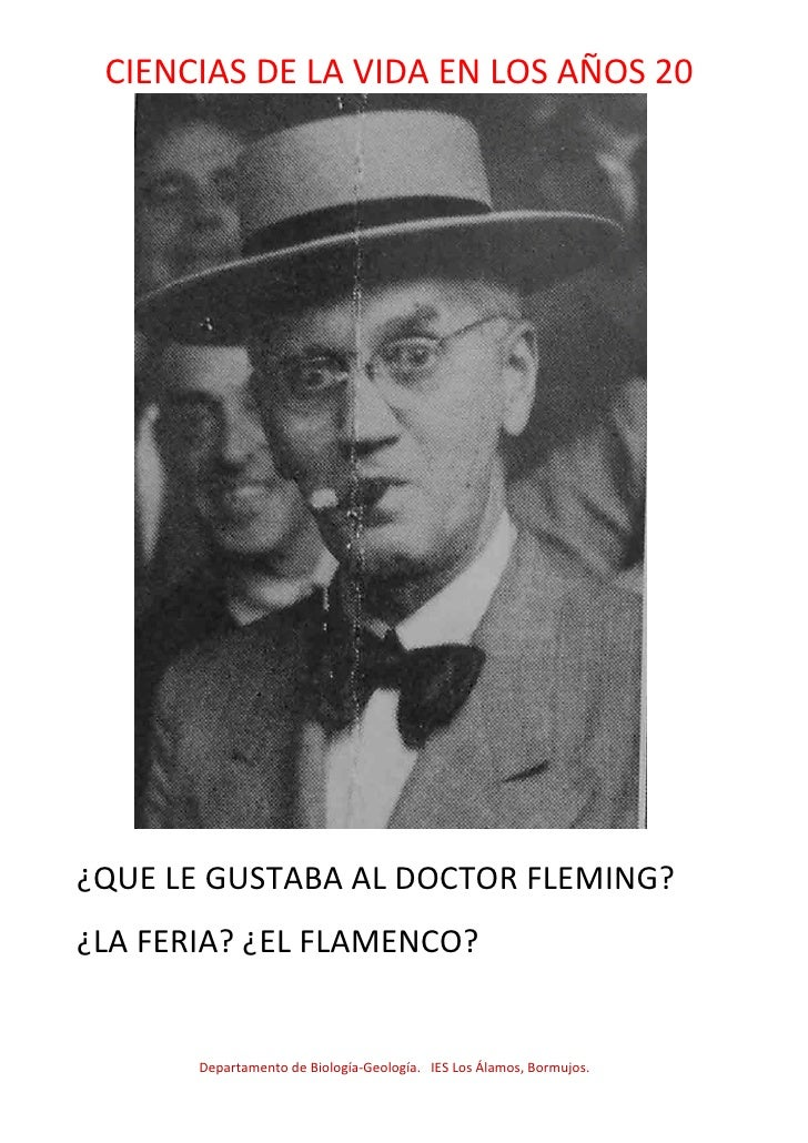 Cienciasaños20 doctor fleming