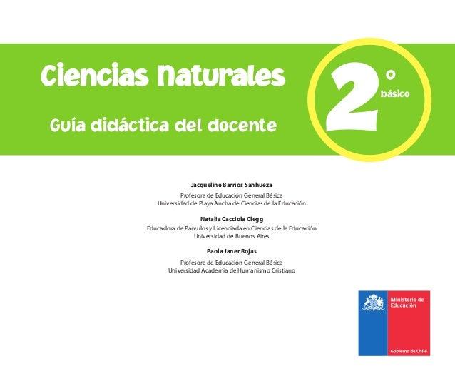 Ciencias naturales   2° básico (gdd)