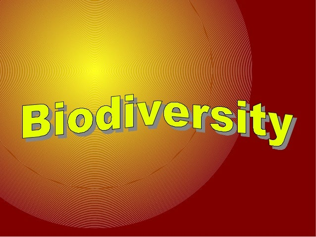 Whats Biodiversity?● The Biodiversity is thevariety of life on Earthin all its form.