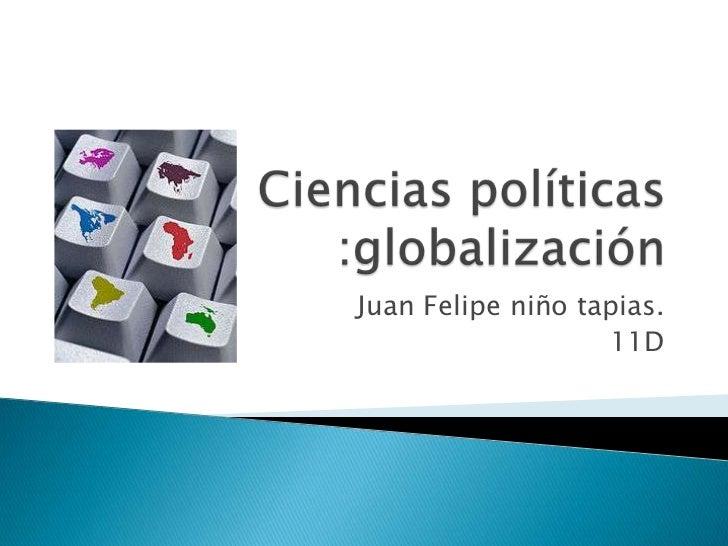 Juan Felipe niño tapias.                   11D