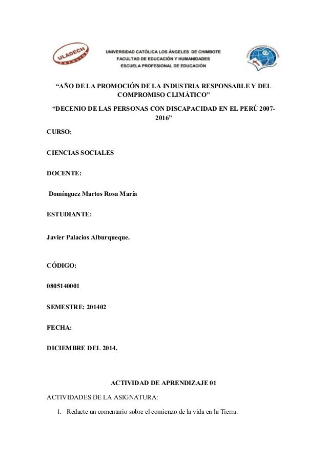 """""""AÑO DE LA PROMOCIÓN DE LA INDUSTRIA RESPONSABLE Y DEL COMPROMISO CLIMÁTICO"""" """"DECENIO DE LAS PERSONAS CON DISCAPACIDAD EN ..."""