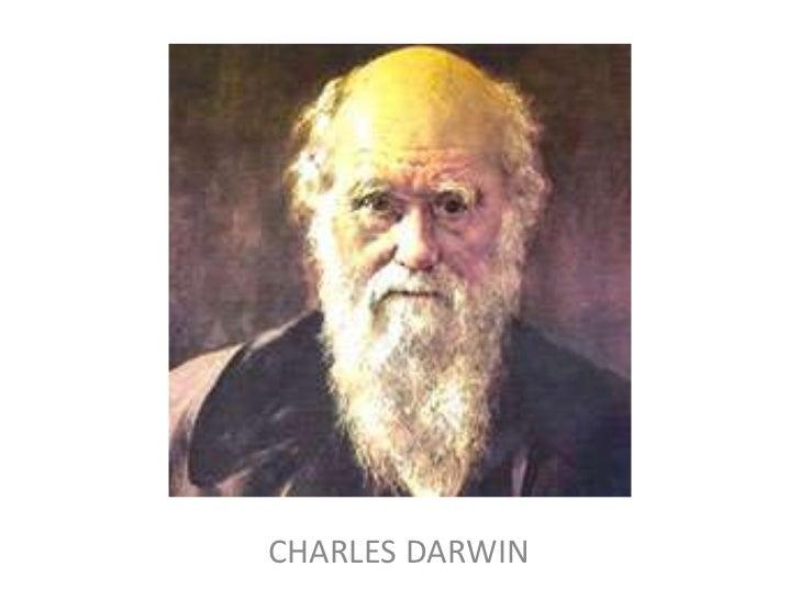 CHARLES DARWIN<br />