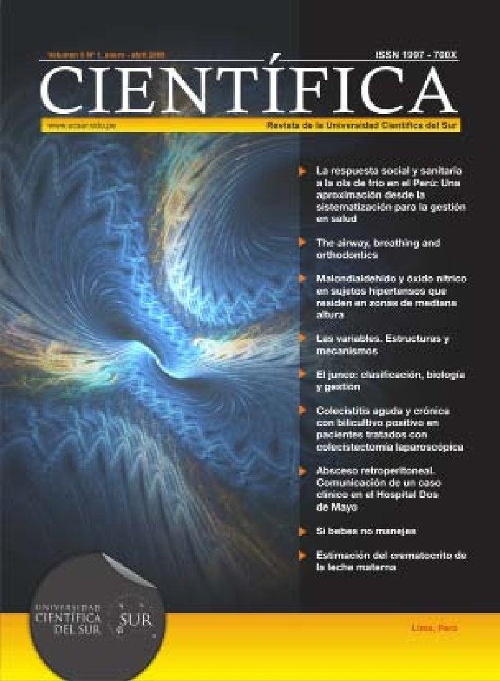 Universidad                                      científica del sUr        Ing. José Dextre Chacón                        ...