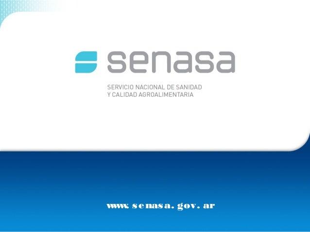 www. senasa. gov. ar