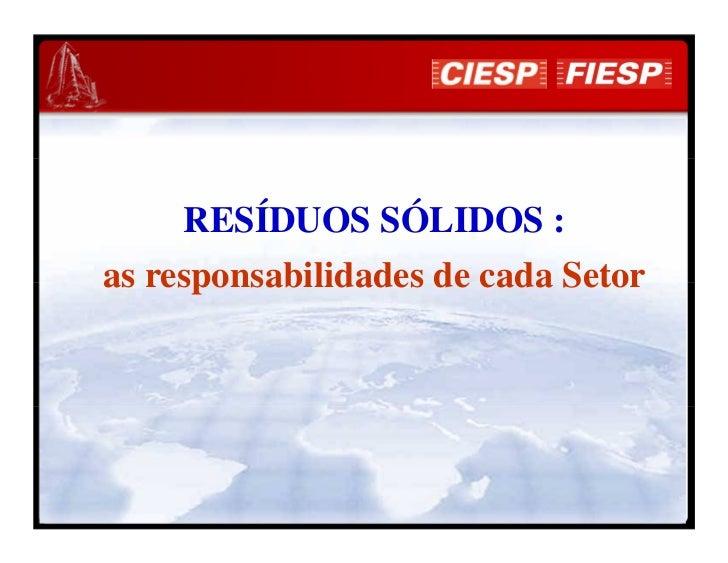 Ciesp dr  eduardo san martin - pnrs - 2012