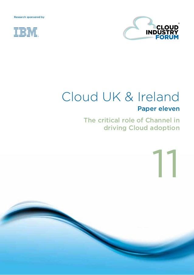 IBM & CIF - Cloud Channel Research 2013