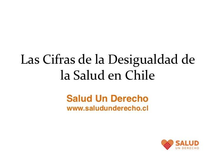 Cifras de la desigualdad en salud en chile