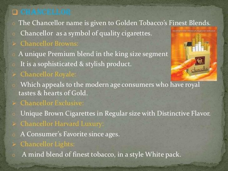 the blue cigarettes