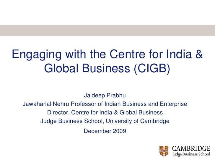 CIGB Presentation