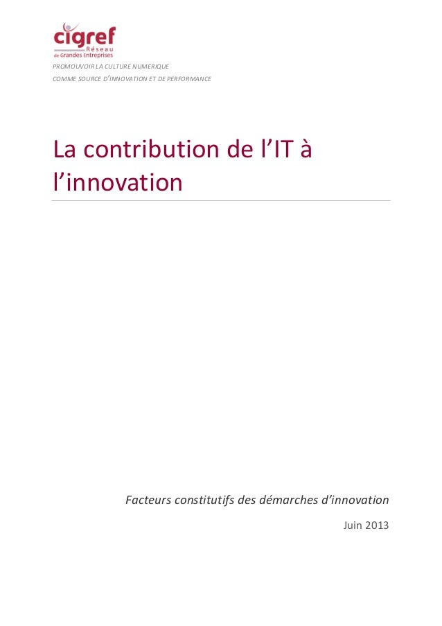 IT et Innovation