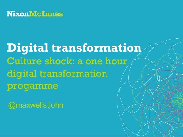 The One Hour Digital Transformation Programme